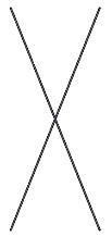 Diagonalkreuz